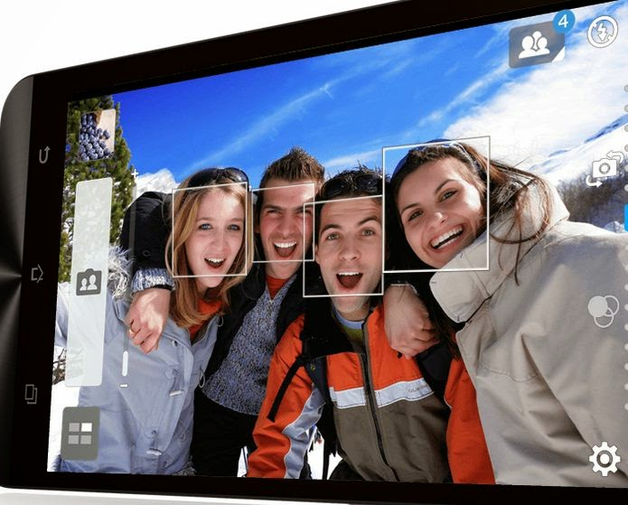 ASUS Zenfone Smartphone Android Terbaik Foto Selfie Mode