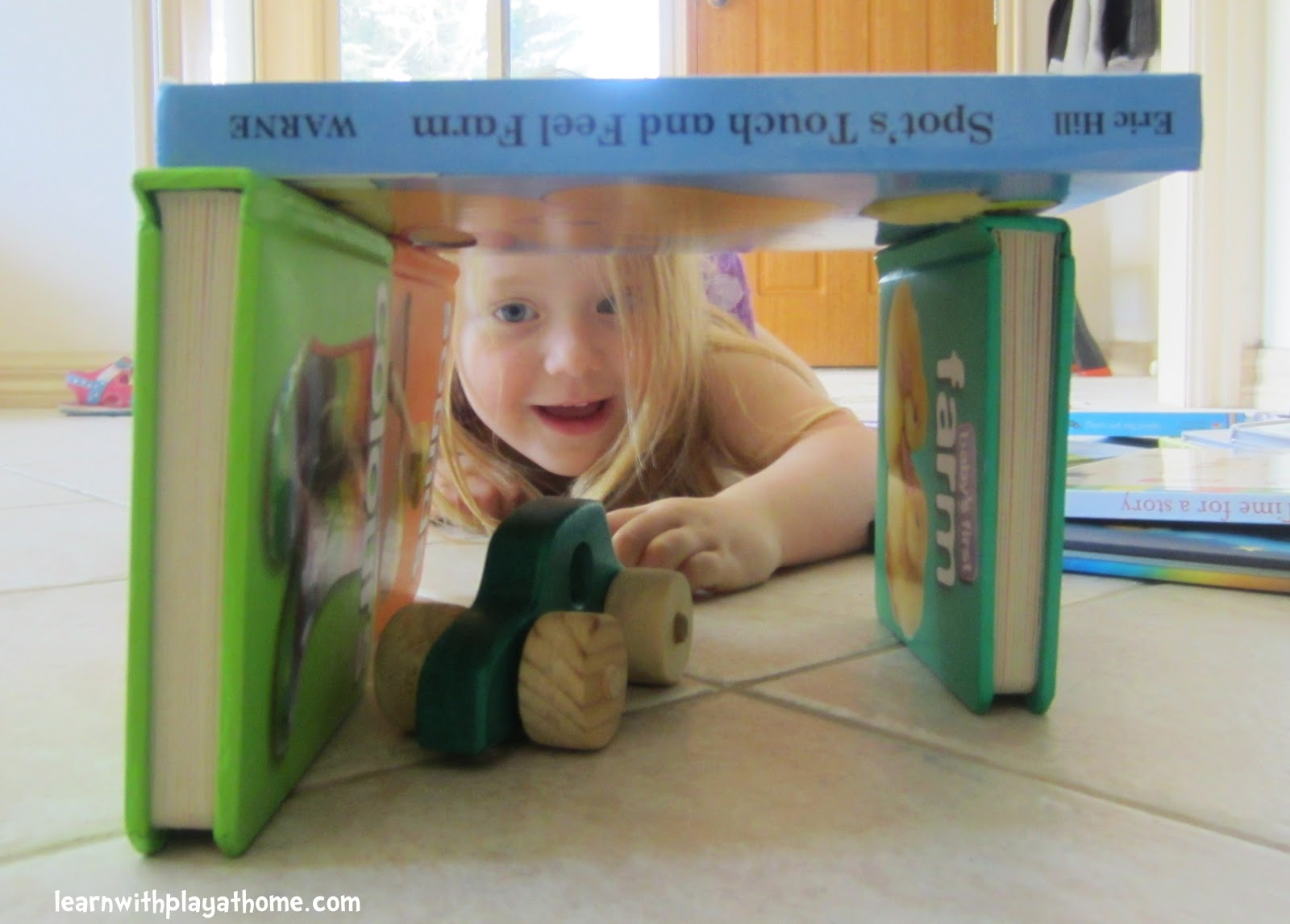 invitation to play building kids activity