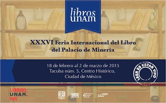 XXXVI Feria Internacional del Libro 2015