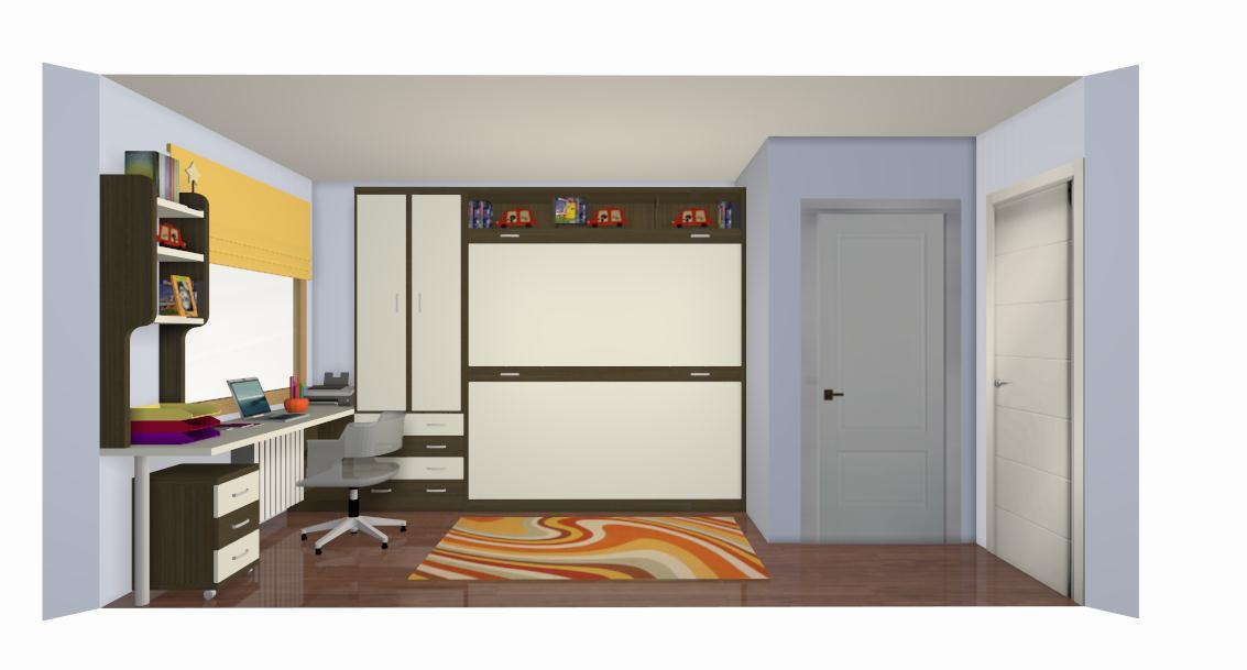 Muebles juveniles dormitorios infantiles y habitaciones for Disena tu dormitorio 3d