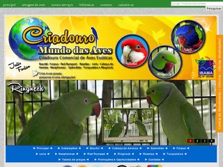 Criadouro O Mundo das Aves