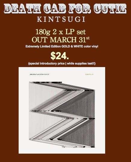 KINTSUGI | Death Cab For Cutie