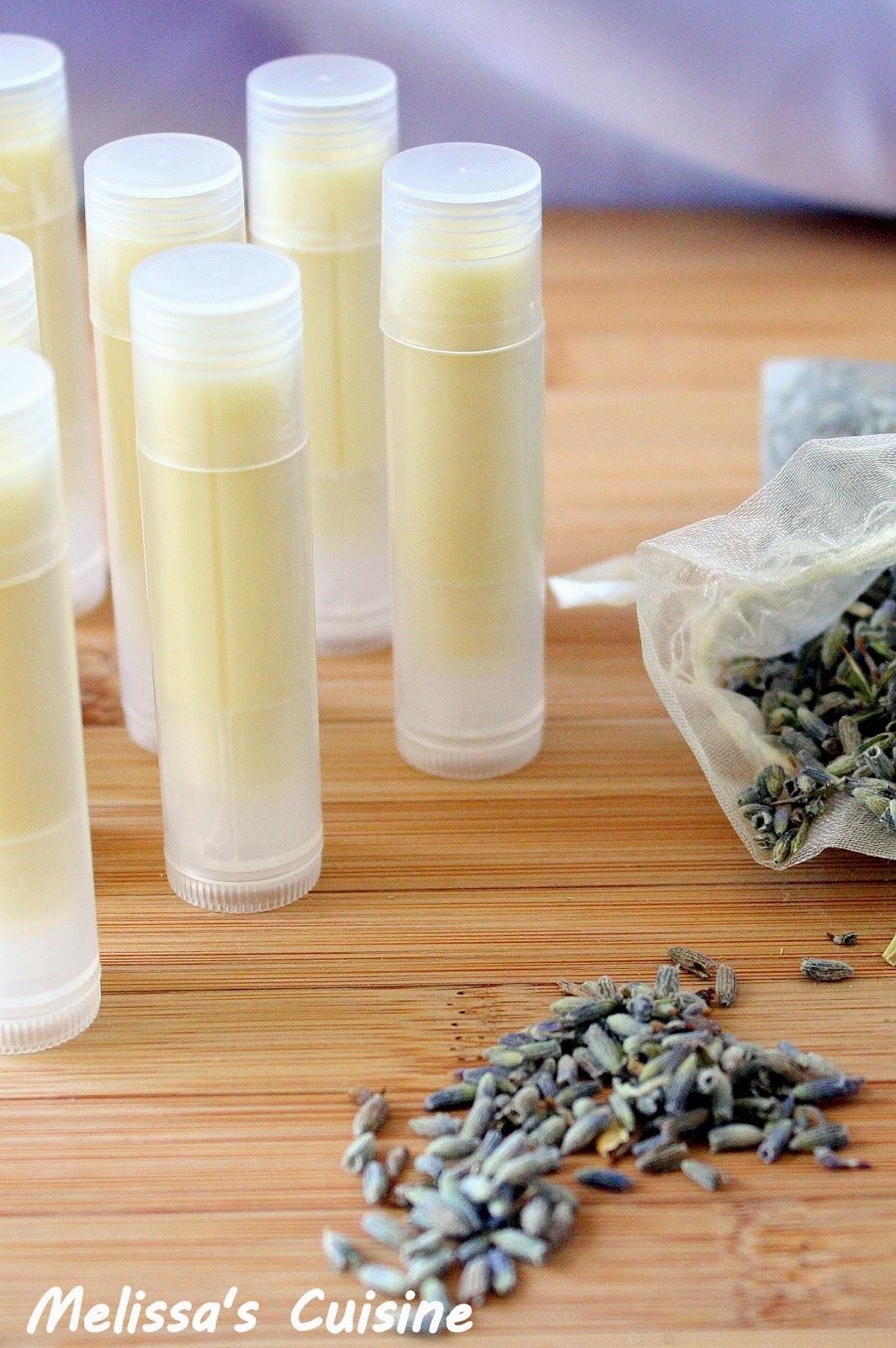 Melissa's Cuisine: Lavender Lip Balm