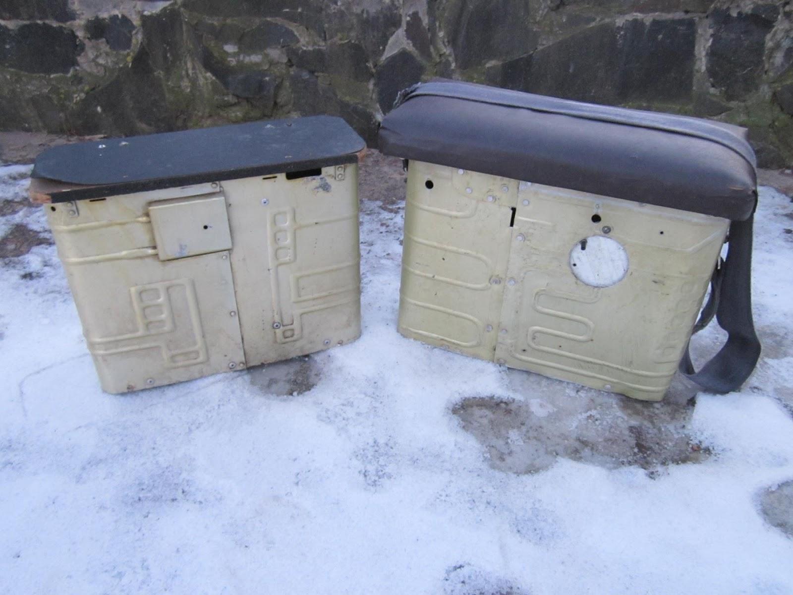 Ящик для зимней из морозильной камеры рыбалки