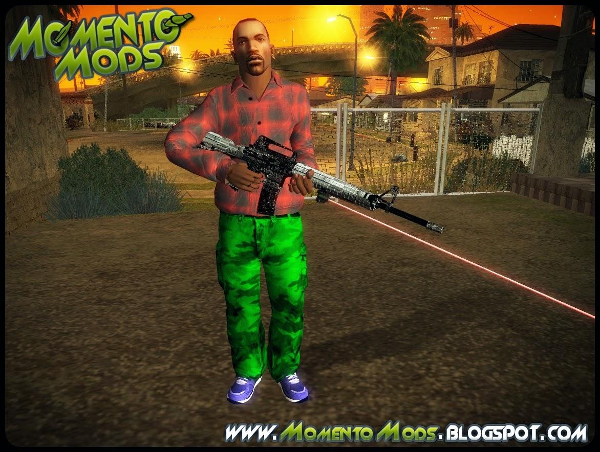 GTA SA - Laser Weapons (Armas Com Laser)