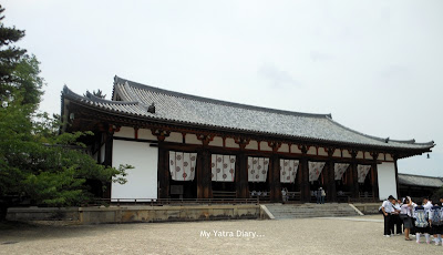 Daikodo great lecture hall, Horyu-ji Temple in Nara