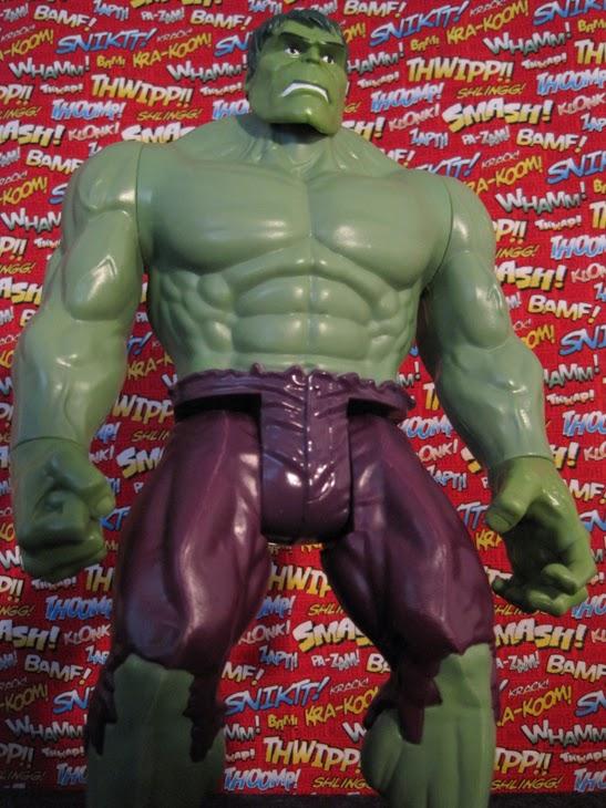 "Marvel 12"" Titan Heroes Avengers Action Figure: Hulk."