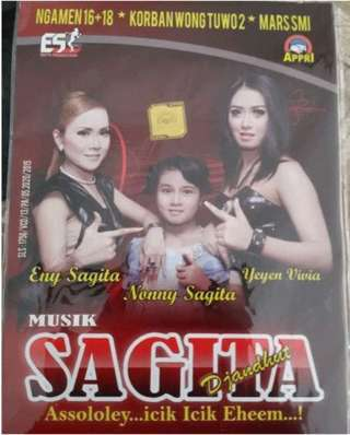 Download Album Ngamen 16+18 Jandut Sagita terbaru 2015