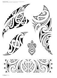 desenhos de tatuagens maori