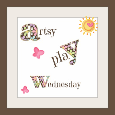 Artsy Play Wednesday, linky