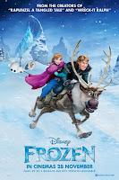 Disney's Frozen movie poster malaysia