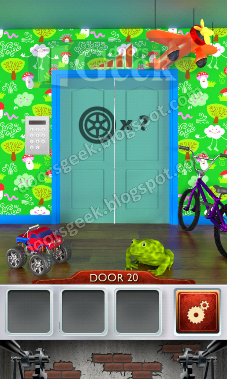 100 doors 2 level 20 doors geek for Solution wordbrain cuisine