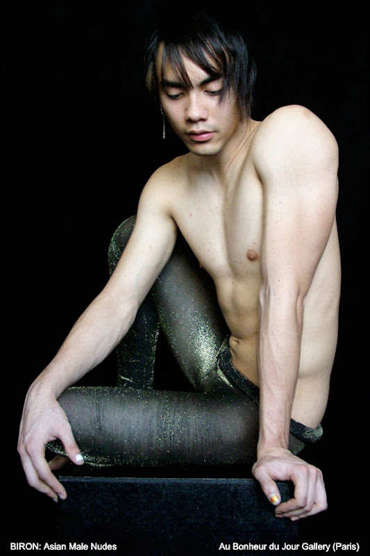 Micko BIRON Paris Asian Male Nude Exhibition
