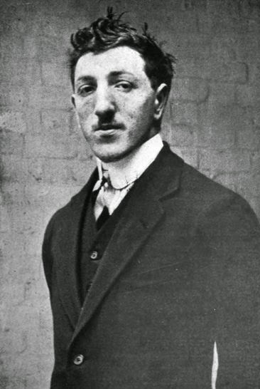 Robert Rosenthal - 23 years old.  (Felstead, German Spies at Bay, 1920)