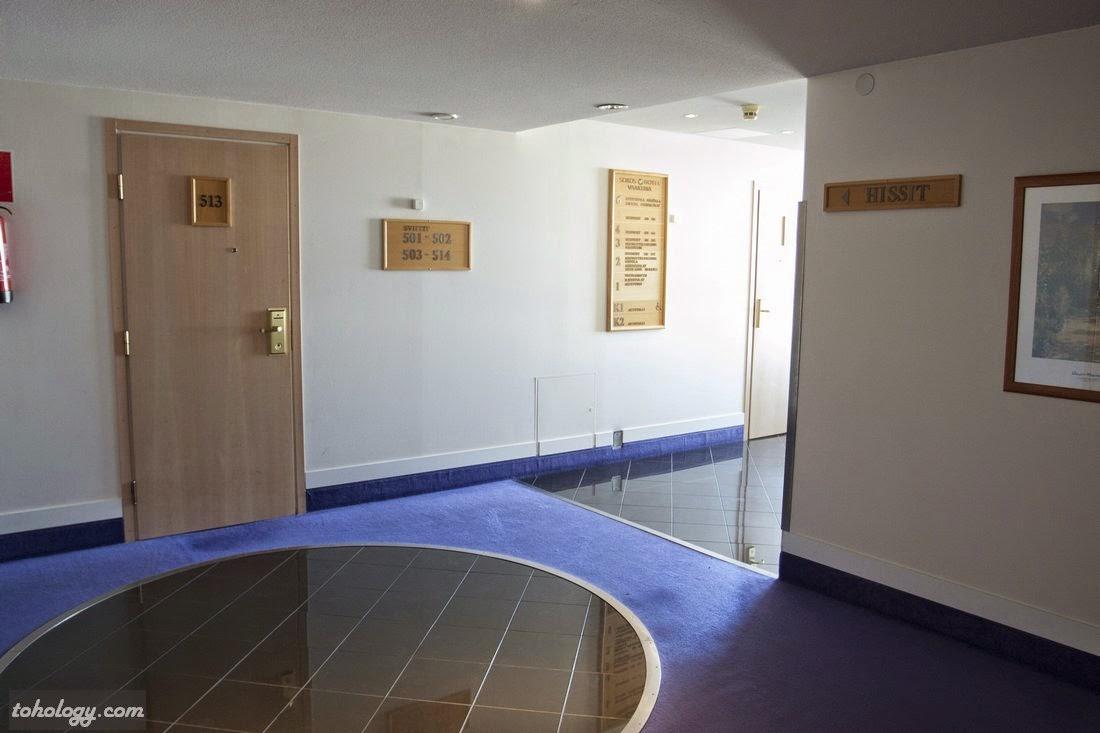 A floor in the hotel // Один из этажей в отеле