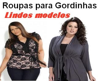 roupas para gordinhas - lindos modelos