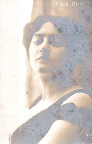 ITALIAN SOPRANO CARMEN MELIS (1885-1967) CD