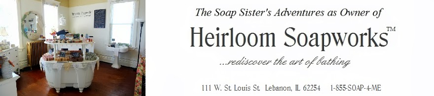 Natural Soap Handmade by The Soap Sister at Heirloom Soapworks