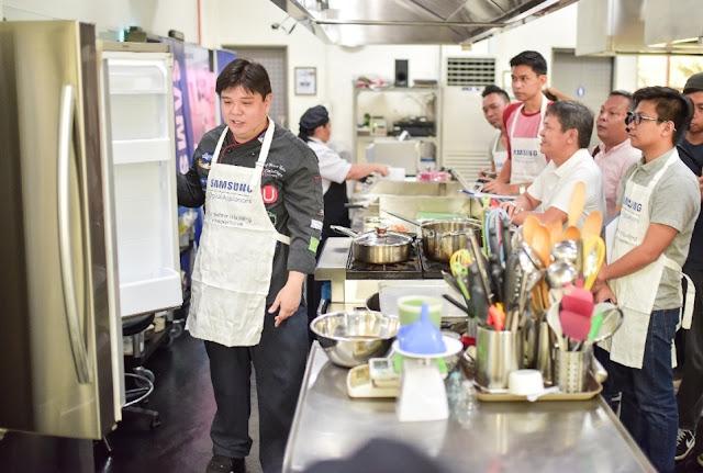 Samsung Digital Appliances' Cooking Workshop with Chef Ernest Gala