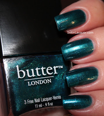 Butter London Bluey nail polish