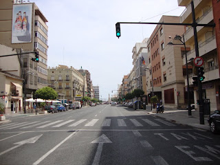 Valencia City Street Photo - Spain