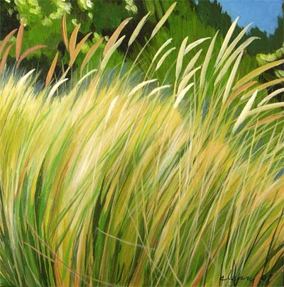 How To Paint Long Grass In Oils