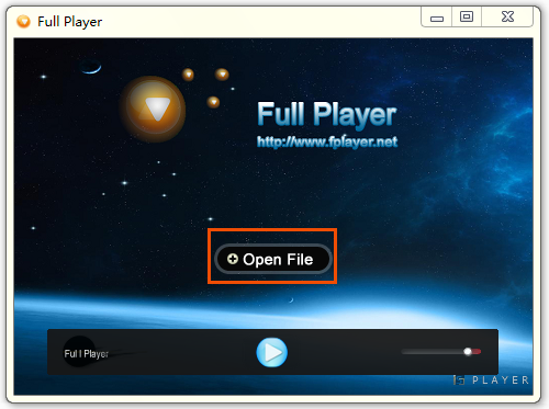 Full Player 6.31 – Interface