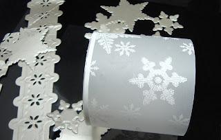ODBD Stamps, Sparkling Snowflakes, Snowflake Dies, Julie Warner