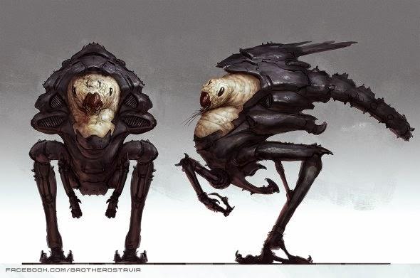 Jonathan González Gómez BrotherOstavia deviantart ilustrações ficção científica