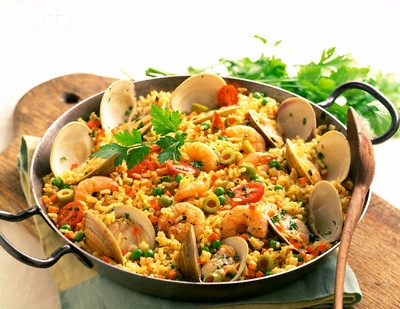 un impostore in cucina: paella ricca....delle mie vongole!! - Come Si Cucina La Paella Surgelata