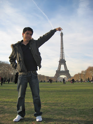 Eiffel Tower Within My Reach