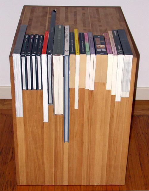 自分がお気に入りの本を、こういう形で収納しておくというのはありですね。
