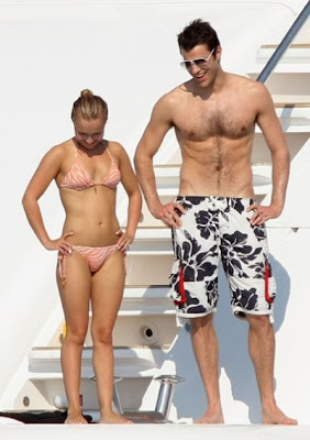 Hayden Panettiere with Boyfriend