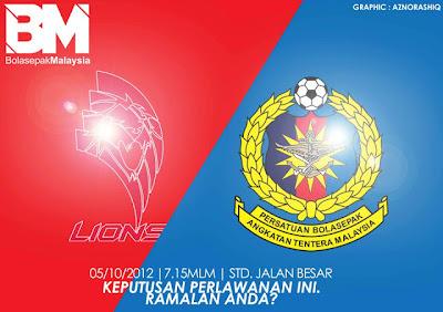 Video Gol ATM vs LIONS XII 11 Oktober 2012