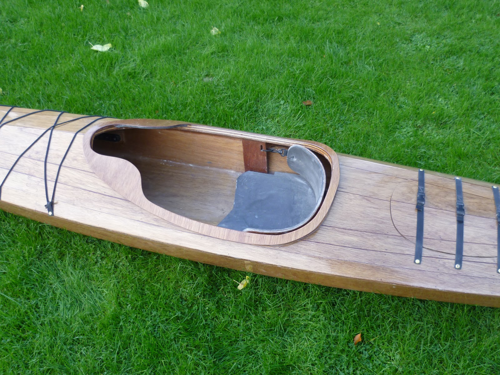 Floating Art: Stitch and glue Sea kayak, sleek and fast