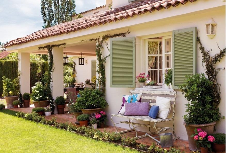 Pembe yast k ev dekorasyonu blogu ve dekorasyon - Fotos de porches rusticos ...