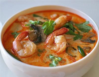 Resep Masakan Tom Yang Khung (Sup Udang Thai)