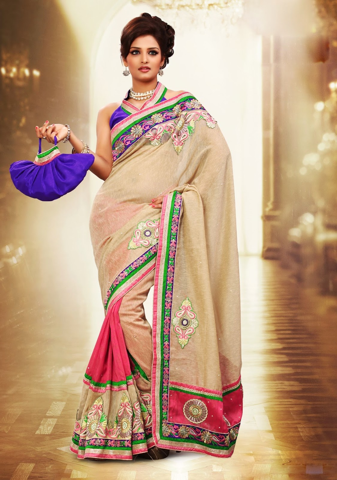 Party Sarees Party Wear Saree Top Hairstyles That Go