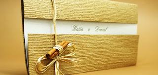 modelo de convite de casamento rústico - fotos e dicas