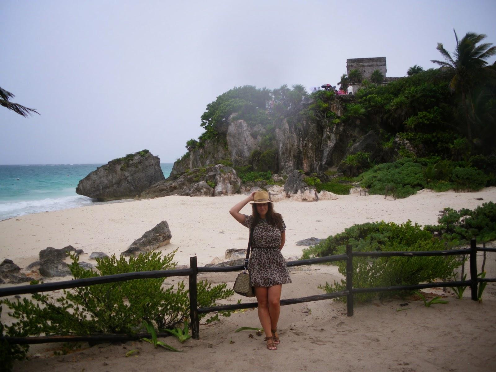tulum mexico caribe vacaciones viaje