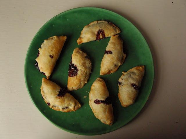Puff pastry, jam