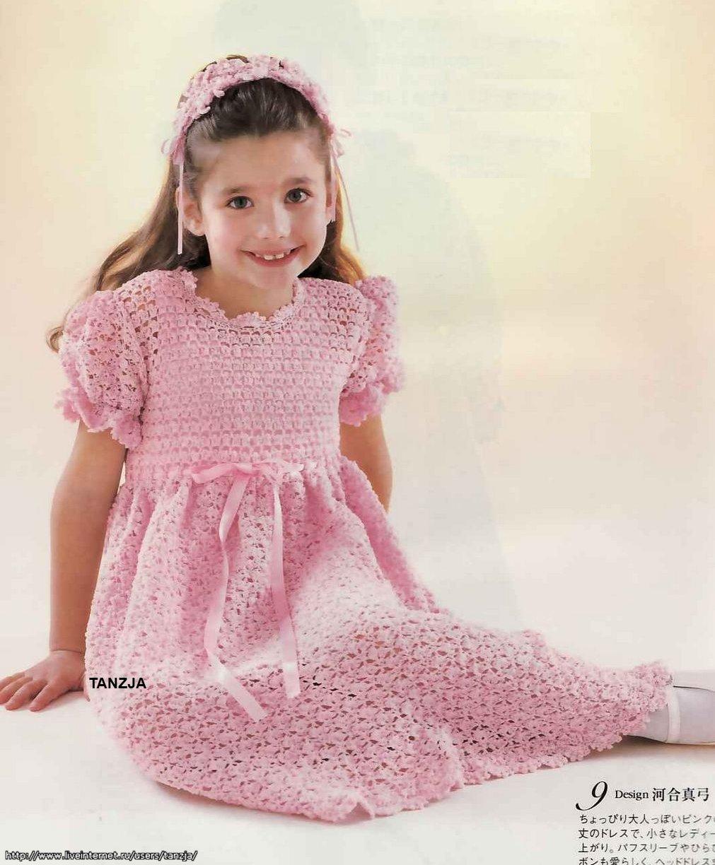 Вязанные Платья Для Девочек С Доставкой