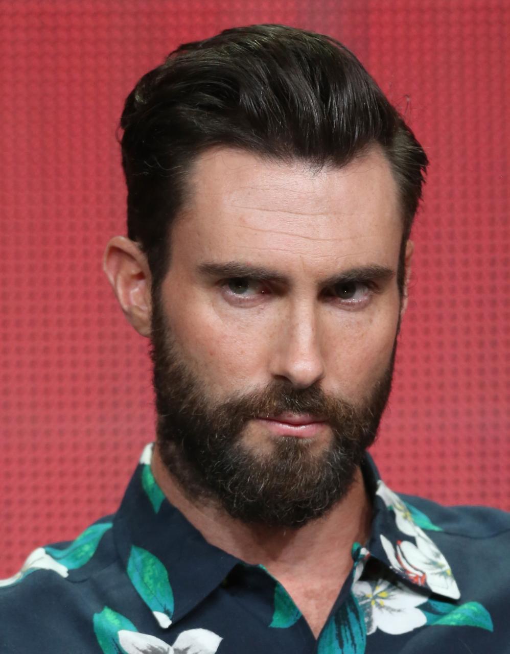 When Beards Attack Adam Levine Edition