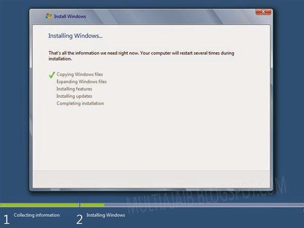 Loading windows 8