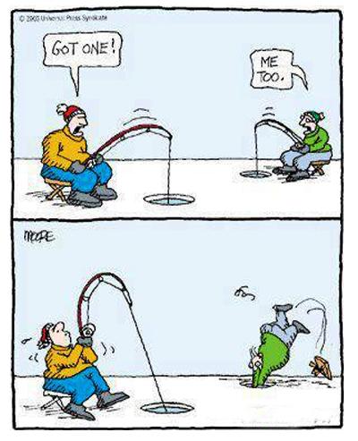 Funny fishing cartoon for Funny fishing cartoons