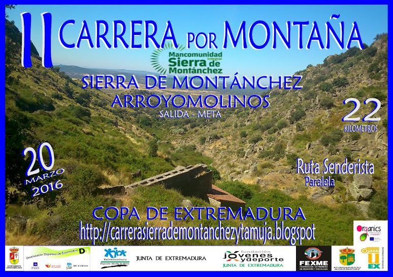 CARRERA POR MONTAÑA SIERRA DE MONTÁNCHEZ Y TAMUJA