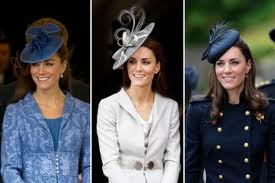Kate Middleton fascinator hats