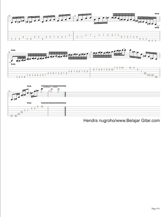 chromatic,arpeggio,harmonic minor - page 4