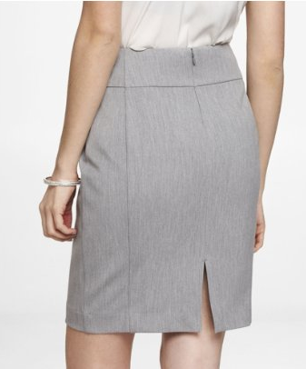 How to wear a light grey pencil skirt – Modern skirts blog for you