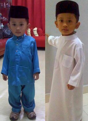 Baju Melayu & Jubah Kanak-Kanak